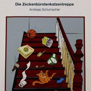 Zeckenbürstenkatzentreppe von Andreas Schumacher